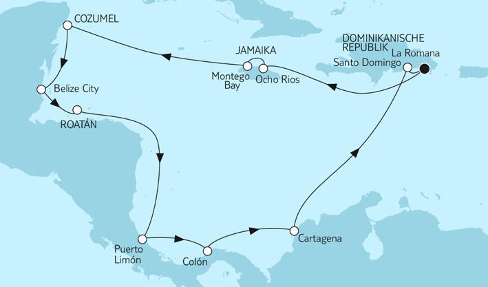 reiseanfrage tui cruises mein schiff 6 karibik und. Black Bedroom Furniture Sets. Home Design Ideas